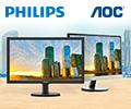 Бонусы в размере 10% от цены за покупку мониторов Philips и AOC.