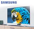 Экстрабонусы до 10% от цены в подарок за телевизоры Samsung.
