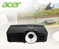 Экстрабонусы в размере 10% от цены в подарок за проекторы Acer.