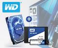 Скидка на комплект WD HDD Blue + SSD Blue