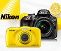 При покупке зеркальных фотоаппаратов Nikon - МФУ в подарок, при покупке компактных фотоаппаратов Nikon - дарим карту памяти.