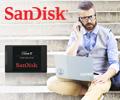 Скидки на накопители SSD SanDisk