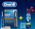 Годовой запас сменных насадок Cross Action в подарок за покупку электрических зубных щеток Oral-B.