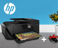 Подарок за покупку МФУ и принтеров HP