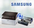 Скидка 50% на картридж при покупке в комплекте с принтером или МФУ Samsung.