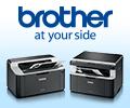 Специальная цена на комплекты печатной техники Brother: МФУ/принтер Brother + картридж.