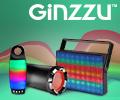 Скидка 10% по промокоду на портативные колонки GINZZU.