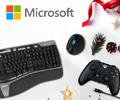 Скидка до 20% по промокоду на аксессуары Microsoft.
