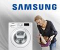 Бесплатная доставка и сертификат Ситилинк до 3000 рублей в подарок за стиральную машину Samsung.