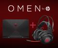 Гарнитура HP Omen в подарок за ноутбуки НР.