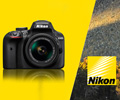 Скидка 7% по промокоду на зеркальные фотоаппараты Nikon.