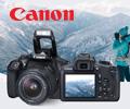 Скидка 10% по промокоду на зеркальные фотоаппараты Canon.