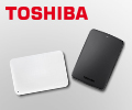Скидка 4% по промокоду на внешние жесткие диски Toshiba.