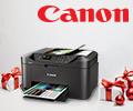 Экстрабонусы 10% от цены и бесплатная доставка принтеров и МФУ Canon Maxify.