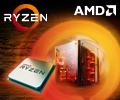 Экстрабонусы 5% от цены за процессоры AMD Ryzen.