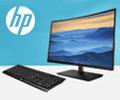 Клавиатура HP в подарок за мониторы HP.
