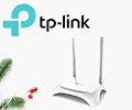 Скидка 150 рублей по промокоду на маршрутизатор TP-LINK TL-WR842N.