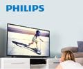 Скидка 20% по промокоду на телевизор Philips.