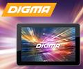 Скидка до 2000 рублей по промокоду на планшеты Digma.