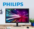 Экстрабонусы 10% от цены за мониторы Philips.