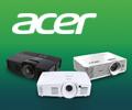 Экстрабонусы в размере 10% от цены за проекторы Acer.