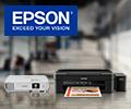 Экстрабонусы 10% за принтеры, МФУ, сканеры и проекторы Epson.