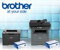 Картридж со скидкой 50% при заказе с принтером или МФУ Brother по промокоду PRINT