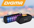 Cкидка 30% по промокоду SKIDKA30 на беспроводные колонки Digma.