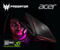Скидка 10% на  игровые ноутбуки Acer на базе GF GTX