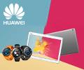 Кредит без переплат на 12 месяцев на смарт-часы и планшеты Huawei