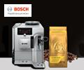 Кофе в подарок при покупке кофемашины или кофеварок BOSCH