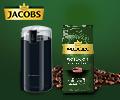 Кофе Jacobs Monarch в подарок за любую кофемолку.