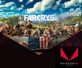 Получи игру Far Cry® 5 БЕСПЛАТНО при покупке видеокарты AMD Radeon™ RX Vega.