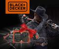 Набор инструментов или второй аккумулятор в подарок за садовую технику и электроинструменты Black&Decker.