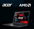Скидка 1500 рублей по промокоду на ноутбуки Acer на базе гибридных процессоров AMD.