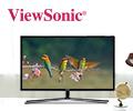 Экстрабонусы 10% от цены за мониторы Viewsonic.