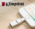 Скидка 10% на USB-накопители DataTraveler Bolt Duo от Kingston.