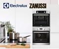 Скидка 20% при единовременной покупке двух разных приборов Electrolux или Zanussi.
