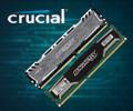Скидки 15% на модули памяти CRUCIAL Ballistix.