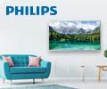 Скидки до 20% по промокоду на телевизоры Philips.