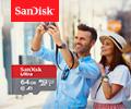 Экстрабонусы до 20% от цены за покупку карт памяти Sandisk.