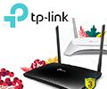 Cкидка 15% по промокоду на беспроводные маршрутизаторы TP-Link.