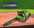 Суперцены на ассортимент товаров Greenworks.