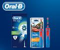 Снижение цены до 30% на детские и взрослые электрические зубные щетки Oral-B.