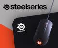 Скидка 100% на второй товар при покупке в комплекте игровых аксессуаров SteelSeries.