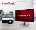 Экстрабонусы 10% за мониторы и проекторы Viewsonic.