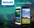 Эксрабонусы 10% от цены за смартфоны Philips.