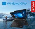 1000 экстрабонусов за ноутбуки Lenovo для бизнеса на Windows 10 Pro.