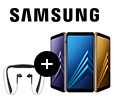 Гарнитура Samsung Level U в подарок за смартфоны Samsung Galaxy A8 и A8+