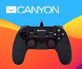 Приобретайте беспроводной геймпад CANYON для PlayStation 4 по самой выгодной цене!